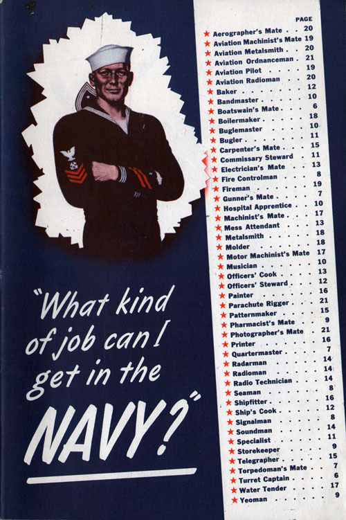 What Kind of Job Can I Get In The Navy?