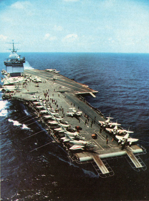 A Pilot's View of the Approach to landing on a carrier