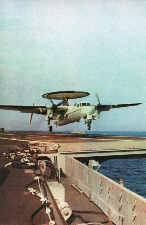 E2 Hawkeye Launching from a Carrier