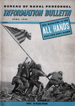 April 1945 Issue All Hands Magazine
