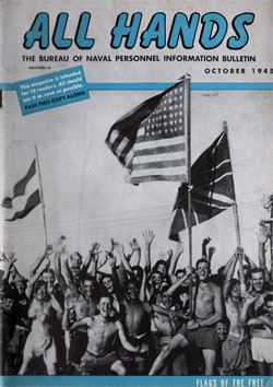 October 1945 Issue All Hands Magazine