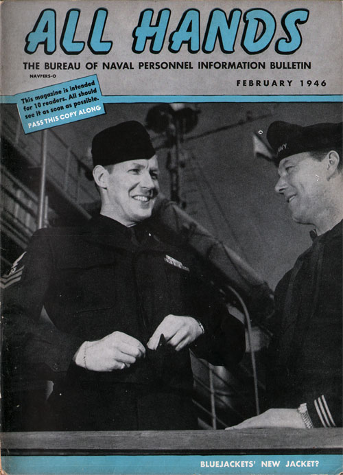 February 1946 Issue All Hands Magazine