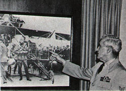 Chief Gillespie points to himself in historic photograph