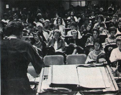 Students Listen To Lecture
