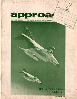 September 1961 Approach Magazine : The Naval Aviation Safety Review
