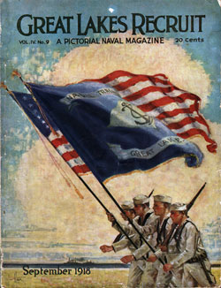 September 1918 The Great Lakes Recruit Magazine