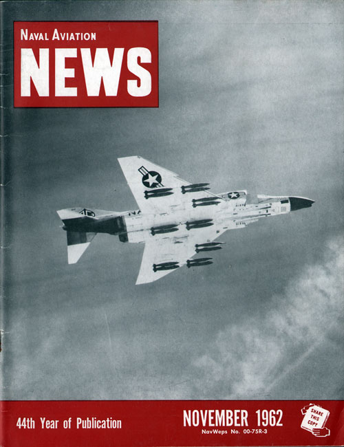 November 1962 Naval Aviation News Magazine