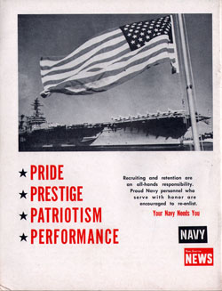 Back Cover - Re-Enlist in the Navy