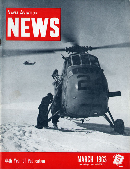 March 1963 Naval Aviation News Magazine
