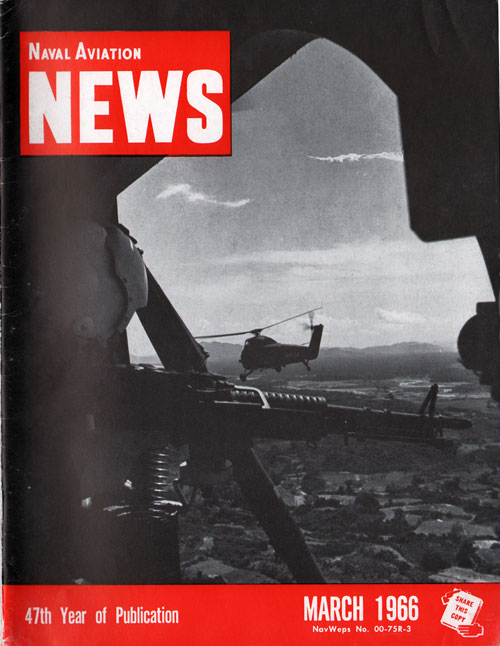 March 1966 Naval Aviation News Magazine