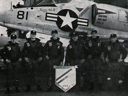 MARINE AVIATORS of H&MS-15 Det