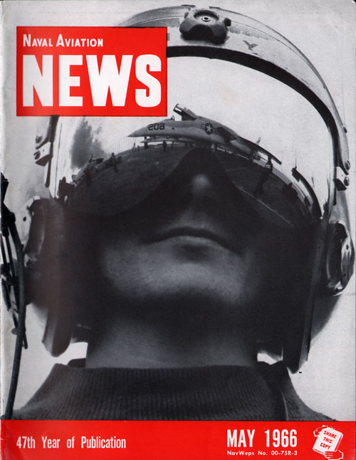 May 1966 Naval Aviation News Magazine