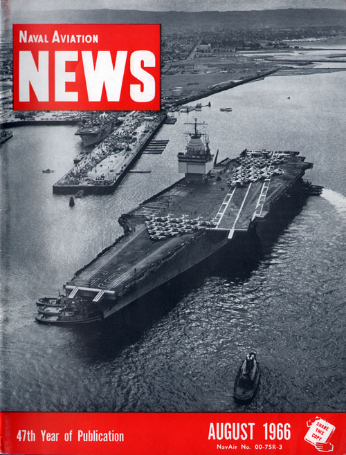 August 1966 Naval Aviation News Magazine
