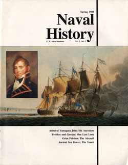 Spring 1989 Issue of Naval History Magazine