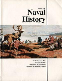 Summer 1989 Issue of Naval History Magazine