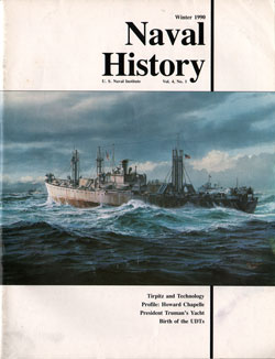 Winter 1990 Issue of Naval History Magazine
