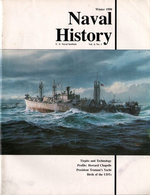Winter 1990 Naval History Magazine