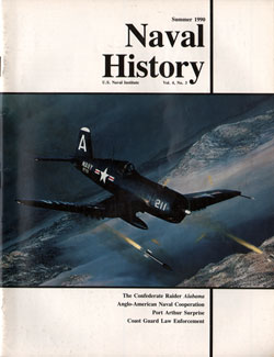 Summer 1990 Issue of Naval History Magazine