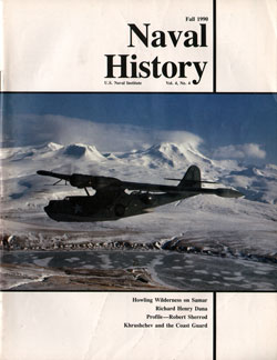 Fall 1990 Issue of Naval History Magazine