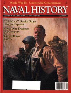 April 1996 Issue of Naval History Magazine