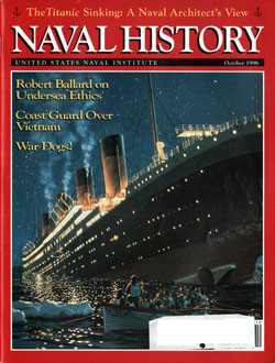 October 1996 Issue of Naval History Magazine
