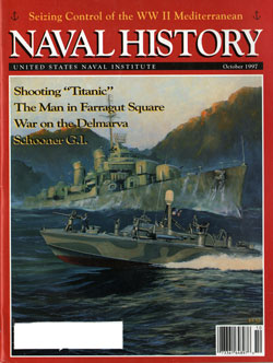 October 1997 Issue of Naval History Magazine