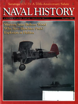 December 1997 Issue of Naval History Magazine