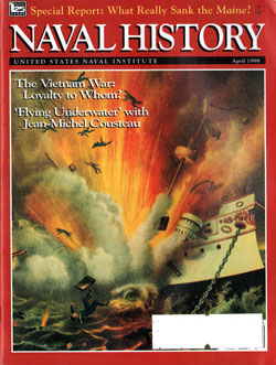 April 1998 Issue of Naval History Magazine