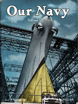 1 October 1942 Issue of Our Navy Magazine