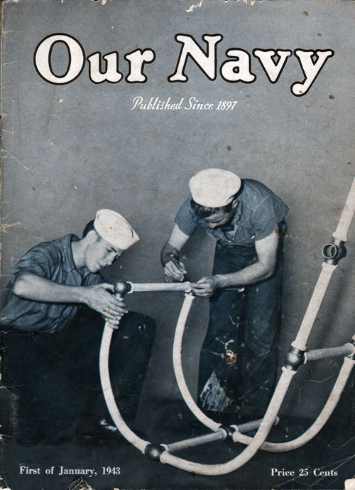 1 January 1943 Our Navy Magazine