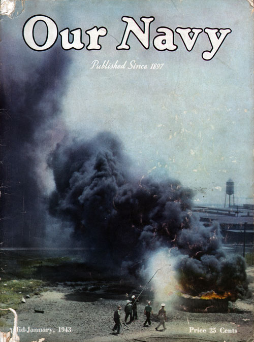 15 January 1943 Our Navy Magazine