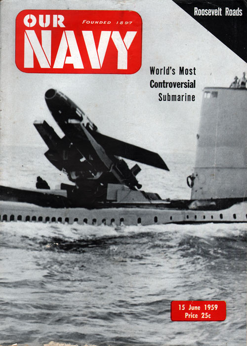 15 June 1959 Our Navy Magazine