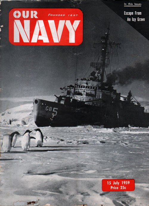 15 July 1959 Our Navy Magazine