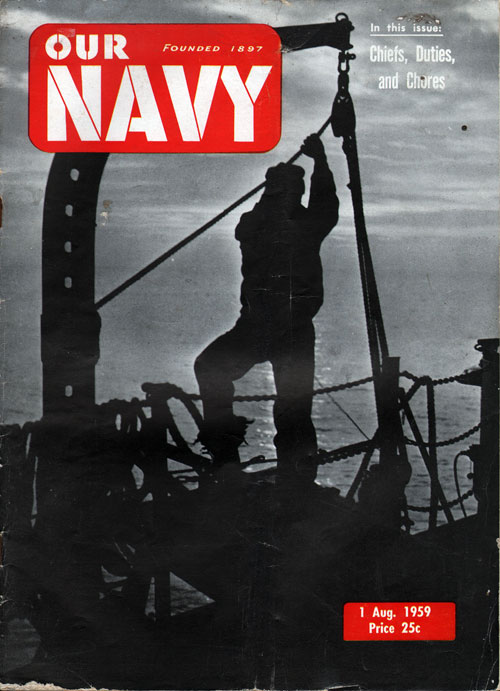 1 August 1959 Our Navy Magazine