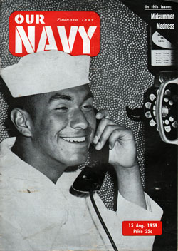 15 August 1959 Issue of Our Navy Magazine