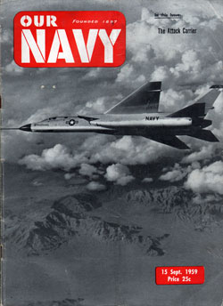 15 September 1959 Issue of Our Navy Magazine