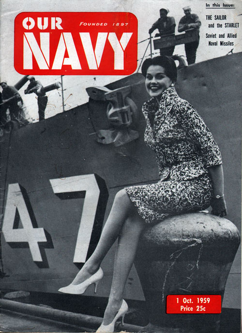 1 October 1959 Our Navy Magazine