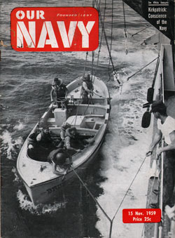 15 November 1959 Issue of Our Navy Magazine