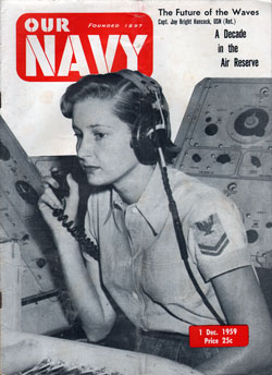 1 December 1959 Issue of Our Navy Magazine