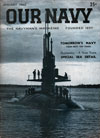 January 1960 Issue of Our Navy Magazine