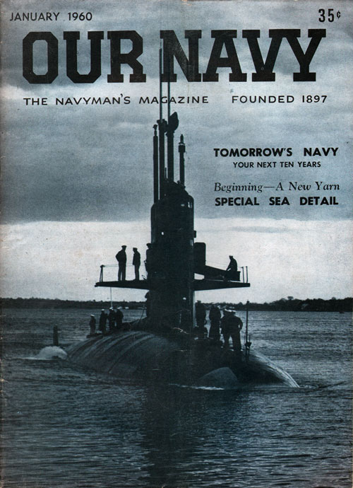 January 1960 Our Navy Magazine