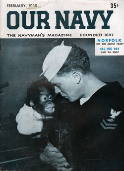 February 1960 Issue of Our Navy Magazine