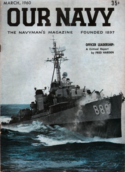 March 1960 Issue of Our Navy Magazine