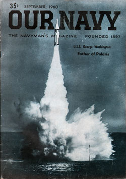September 1960 Issue of Our Navy Magazine