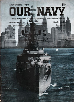 November 1960 Issue of Our Navy Magazine