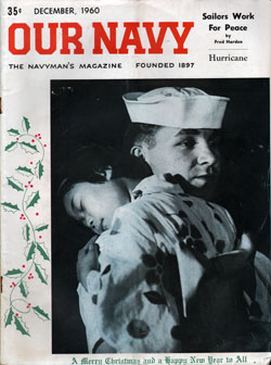 December 1960 Issue of Our Navy Magazine