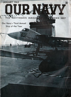 1963-01 Our Navy Magazine