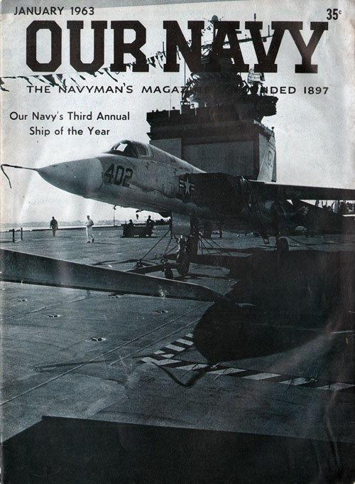 January 1963 Our Navy Magazine : Third Annual Ship of the Year