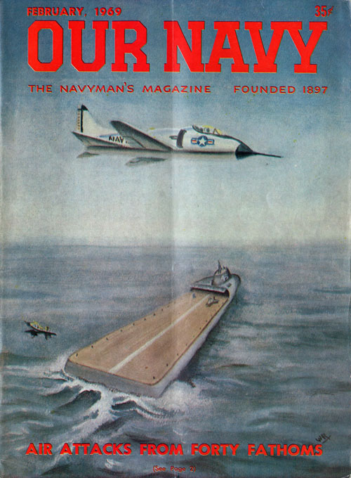 February 1969 Our Navy Magazine