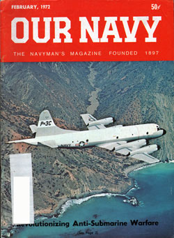 February 1972 Issue of Our Navy Magazine
